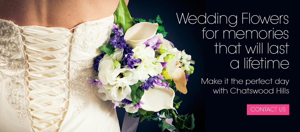 Wedding Flowers Springwood by Chatswood Hills Florist Springwood