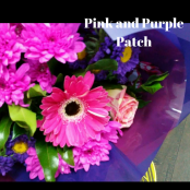 Pink and Purple Patch Bouquet